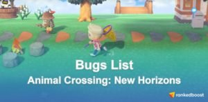 Animal Crossing New Horizons Bug List