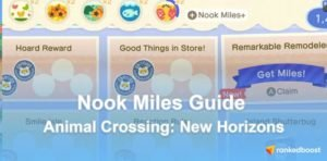 Animal Crossing New Horizons Nook Miles Guide