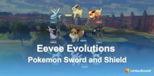 Pokemon Sword and Shield Eevee Evolutions