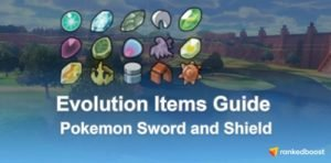Pokemon Sword and Shield Evolution Items