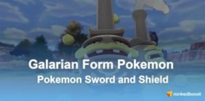 Pokemon Sword and Shield Galarian