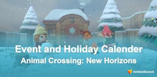 Animal Crossing New Horizons Event List Dates Of All The Events