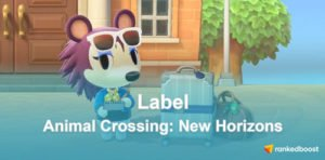 Animal Crossing New Horizons Label