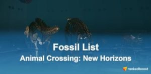 Animal Crossing New Horizons Fossil Guide