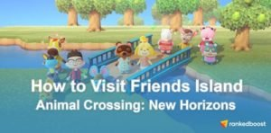 Animal Crossing New Horizons How To Visit Friends Island