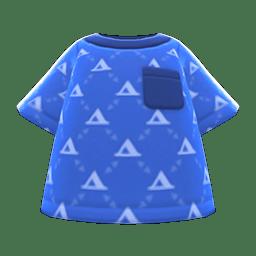 Labelle Knit Shirt Ocean
