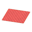 Red Dotted Rug