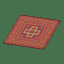 Red Kilim Carpet