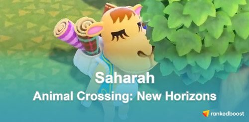 Animal Crossing New Horizons Saharah
