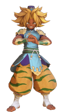 Trials of Mana Warrior Monk Class