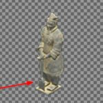 Warrior-Statue-Fake
