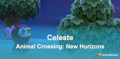 celeste animal crossing wallpaper hd