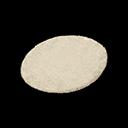 Ivory Medium Round Mat