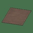 Simple Medium Brown Mat