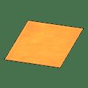Simple Medium Orange Mat