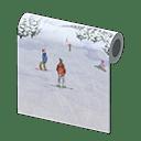 Ski Slope Wall