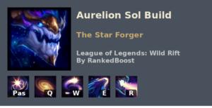 Aurelion Sol Build League of Legends Wild Rift