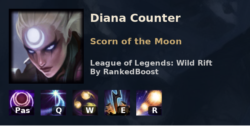 Lol Wild Rift Diana Counters Best Counters Diana Is Weak Against Diana's counter data is provided by counterstats.net. lol wild rift diana counters best