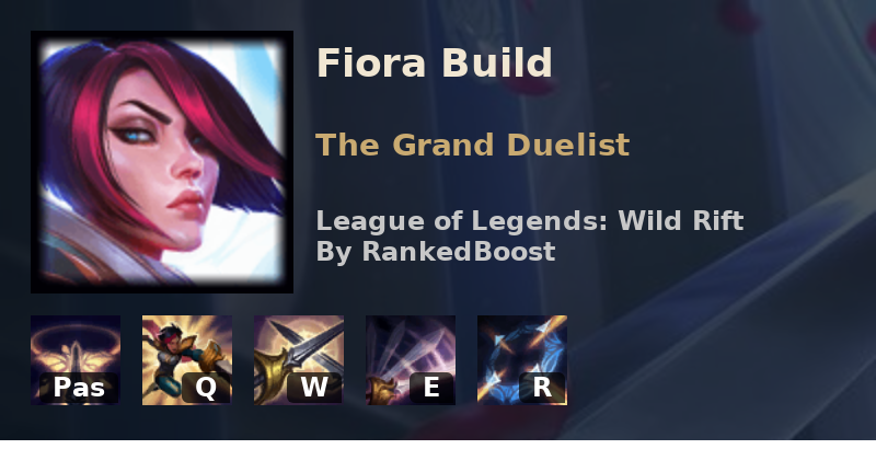Lol Wild Rift Fiora Build Guide Runes Item Builds And Skill Order