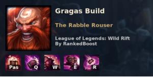 Gragas Build League of Legends Wild Rift