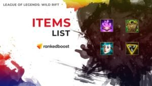League of Legends Wild Rift Items