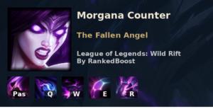 Morgana Counter League of Legends Wild Rift