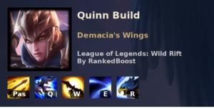 Quinn Build League of Legends Wild Rift