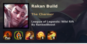 Rakan Build League of Legends Wild Rift