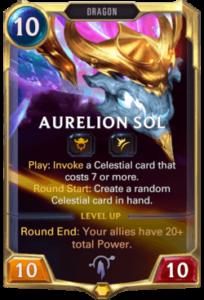 Aurelion Sol Legends of Runeterra