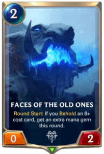 Faces of the Old Ones Legends of Runeterra