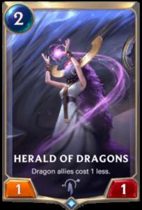 Herald of Dragons Legends of Runeterra