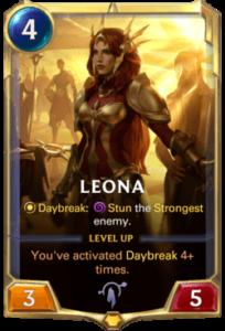 Leona Legends of Runeterra