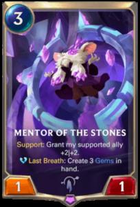 Mentor of the Stones Legends of Runeterra