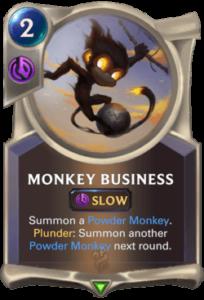 Monkey Business Legends of Runeterra