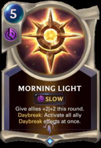 Morning Light Legends of Runeterra