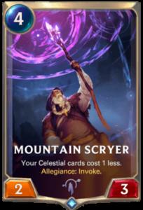 Mountain Scryer Legends of Runeterra