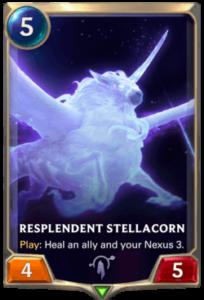 Resplendent Stellacorn Legends of Runeterra