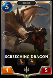 Screeching Dragon Legends of Runeterra