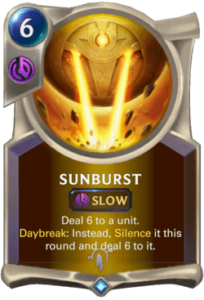 Sunburst Legends of Runeterra