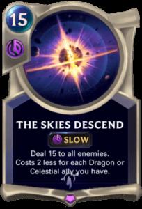 The Skies Descend Legends of Runeterra