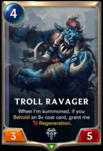 Troll Ravager Legends of Runeterra