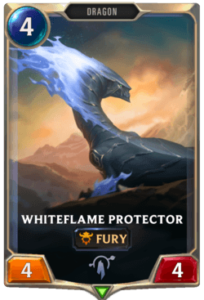 Whiteflame Protector Legends of Runeterra