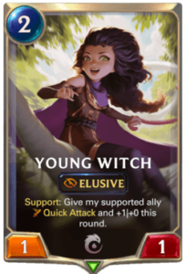 Young Witch Legends of Runeterra