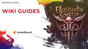 Baldur's Gate 3 Wiki Guides