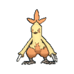 Combusken Pokemon Sword and Shield