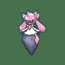 Diancie Pokemon Sword and Shield