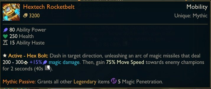 Hextech-Rocketbelt-Mage-Mythic-Item