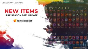 League of Legend Items Update Pre Season | 2021 New Items