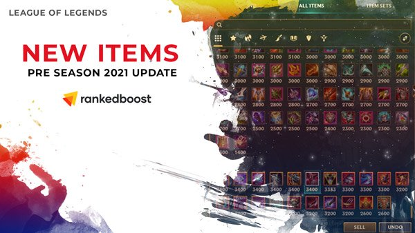 LoL-Items-Update-Pre-Season-2021