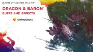 League of Legends Wild Rift Dragon and Baron Buffs